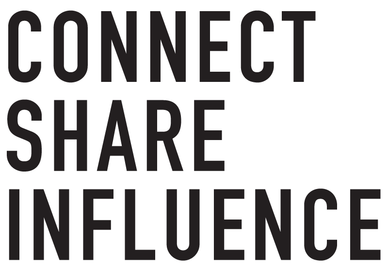 Connect. Share. Influence.